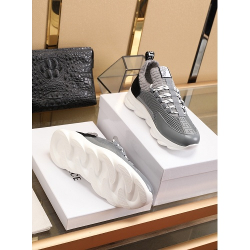 Replica Versace Casual Shoes For Men #755890 $80.51 USD for Wholesale