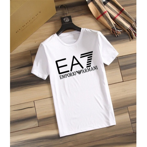 Armani T-Shirts Short Sleeved O-Neck For Men #755905