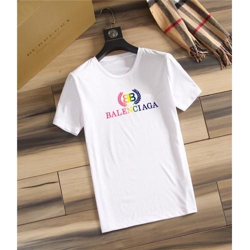 Balenciaga T-Shirts Short Sleeved O-Neck For Men #755913