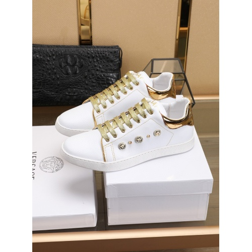 Versace Casual Shoes For Men #756006 $80.51, Wholesale Replica Versace Fashion Shoes