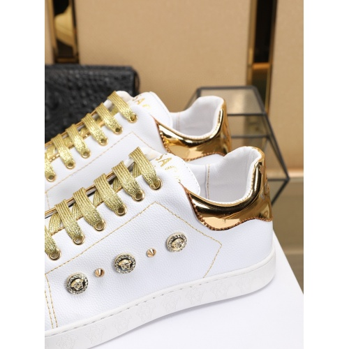 Replica Versace Casual Shoes For Men #756006 $80.51 USD for Wholesale