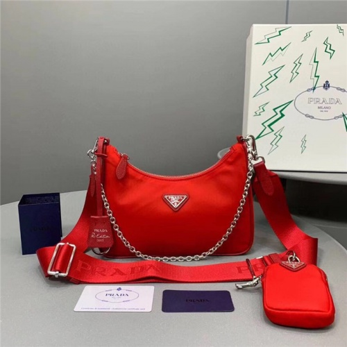 Prada AAA Quality Messeger Bags For Women #756040