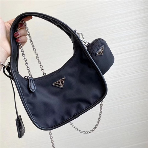 Prada AAA Quality Messeger Bags For Women #756041