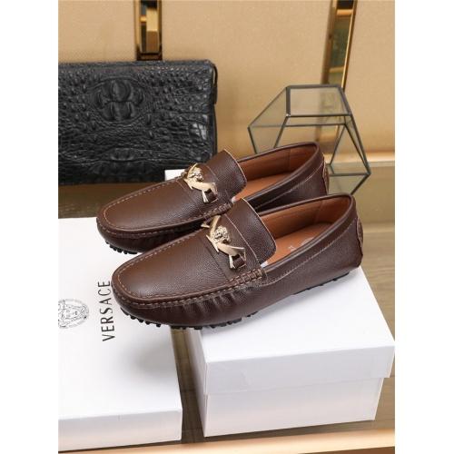 Versace Casual Shoes For Men #756120 $78.57, Wholesale Replica Versace Fashion Shoes