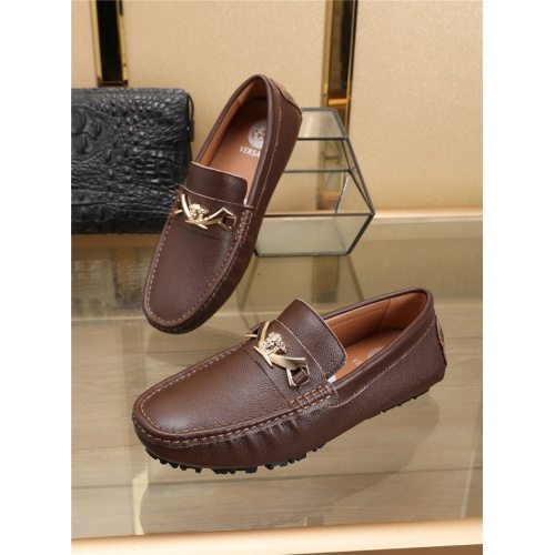 Replica Versace Casual Shoes For Men #756120 $78.57 USD for Wholesale