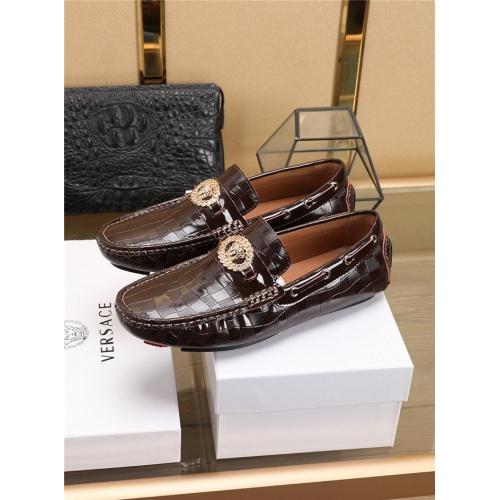 Versace Casual Shoes For Men #756122 $80.51, Wholesale Replica Versace Fashion Shoes