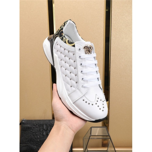 Replica Versace Casual Shoes For Men #756198 $86.33 USD for Wholesale