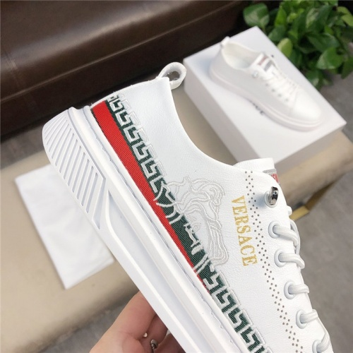 Replica Versace Casual Shoes For Men #756213 $69.84 USD for Wholesale