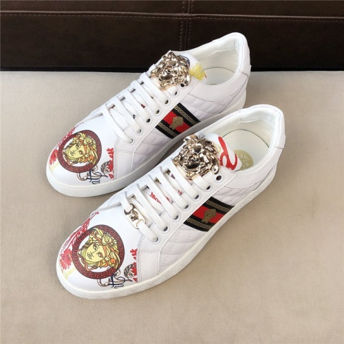 Replica Versace Casual Shoes For Men #756215 $69.84 USD for Wholesale