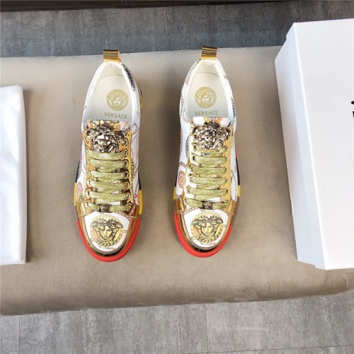Replica Versace Casual Shoes For Men #756216 $69.84 USD for Wholesale