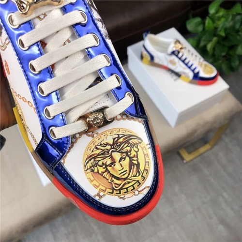 Replica Versace Casual Shoes For Men #756217 $69.84 USD for Wholesale