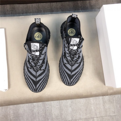 Replica Versace Casual Shoes For Men #756218 $69.84 USD for Wholesale