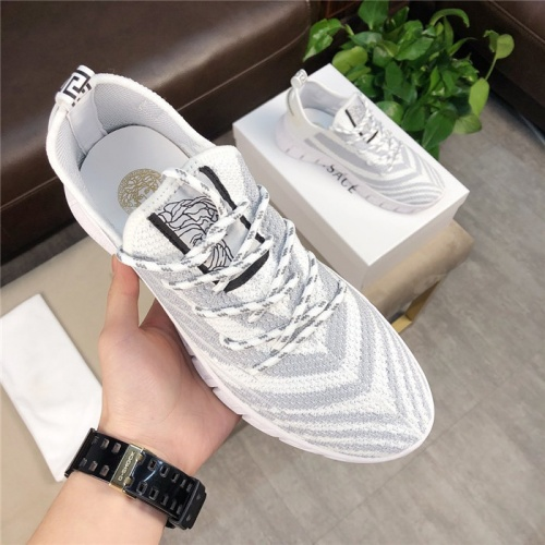 Versace Casual Shoes For Men #756219 $69.84, Wholesale Replica Versace Fashion Shoes