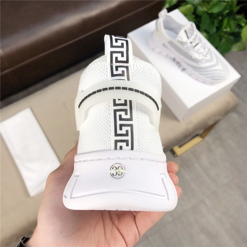 Replica Versace Casual Shoes For Men #756219 $69.84 USD for Wholesale