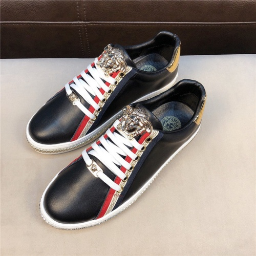 Versace Casual Shoes For Men #756220 $73.72, Wholesale Replica Versace Fashion Shoes