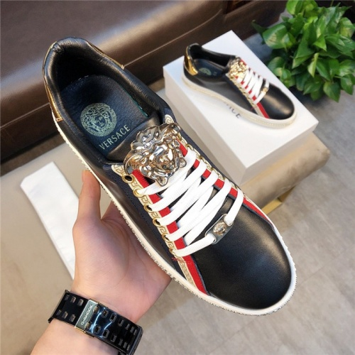 Replica Versace Casual Shoes For Men #756220 $73.72 USD for Wholesale