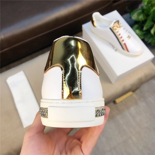 Replica Versace Casual Shoes For Men #756221 $73.72 USD for Wholesale