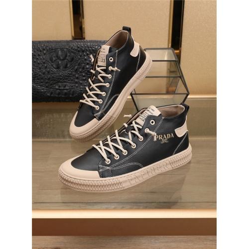 Prada High Tops Shoes For Men #756318