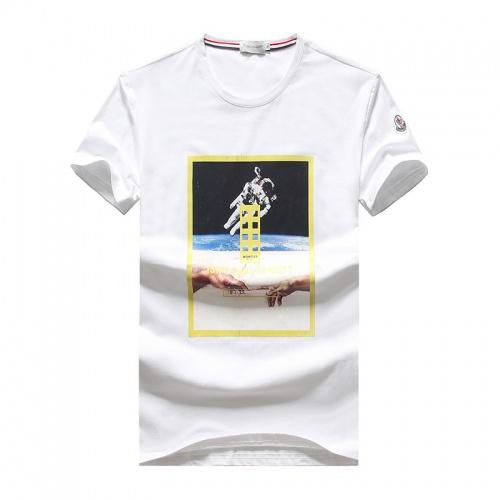 Moncler T-Shirts Short Sleeved O-Neck For Men #756380