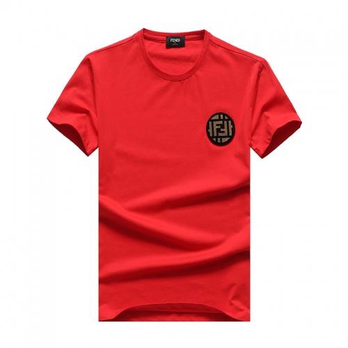 Fendi T-Shirts Short Sleeved O-Neck For Men #756394