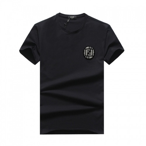 Fendi T-Shirts Short Sleeved O-Neck For Men #756395