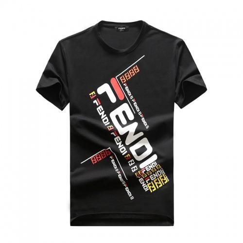 Fendi T-Shirts Short Sleeved O-Neck For Men #756407