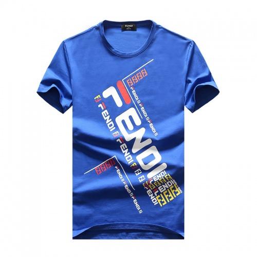 Fendi T-Shirts Short Sleeved O-Neck For Men #756410