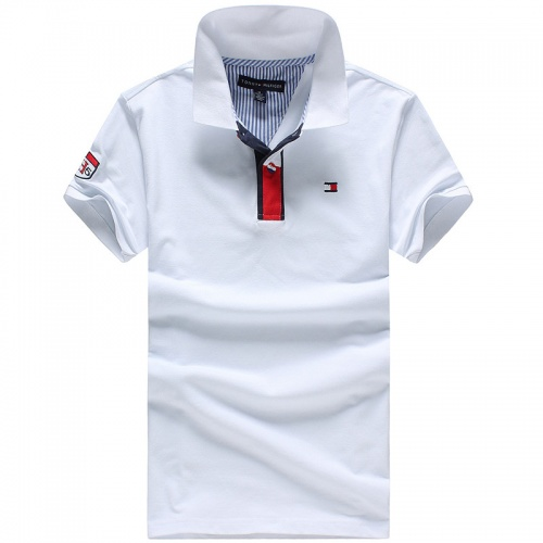 Tommy Hilfiger TH T-Shirts Short Sleeved Polo For Men #756458