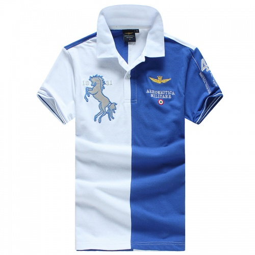 Aeronautica Militare T-shirts Short Sleeved Polo For Men #756462