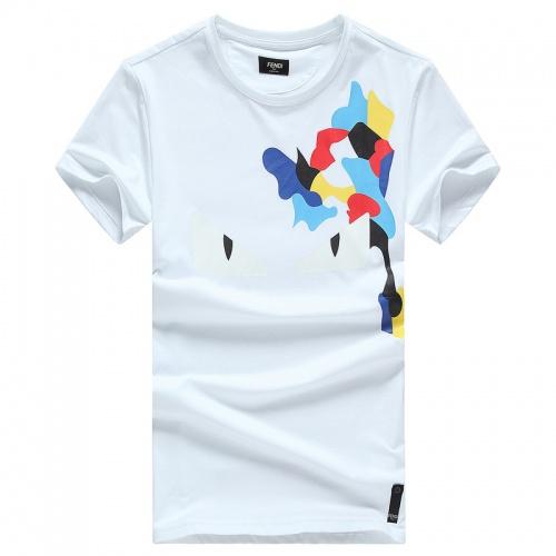 Fendi T-Shirts Short Sleeved O-Neck For Men #756483