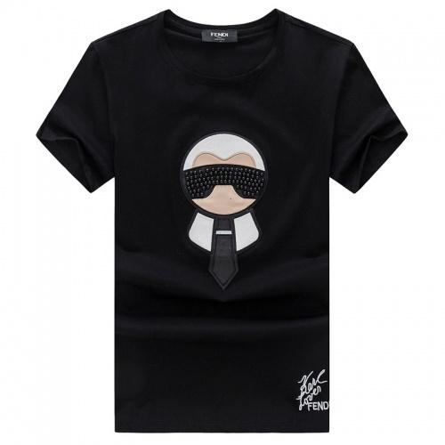 Fendi T-Shirts Short Sleeved O-Neck For Men #756521