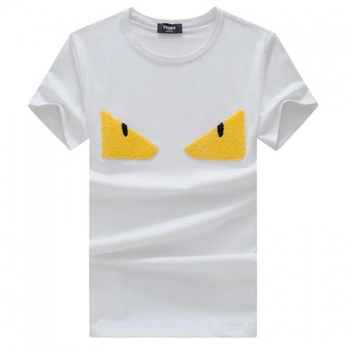 Fendi T-Shirts Short Sleeved O-Neck For Men #756528