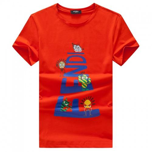 Fendi T-Shirts Short Sleeved O-Neck For Men #756562