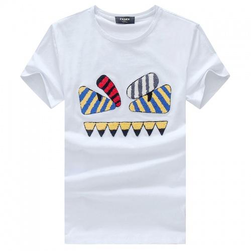 Fendi T-Shirts Short Sleeved O-Neck For Men #756567