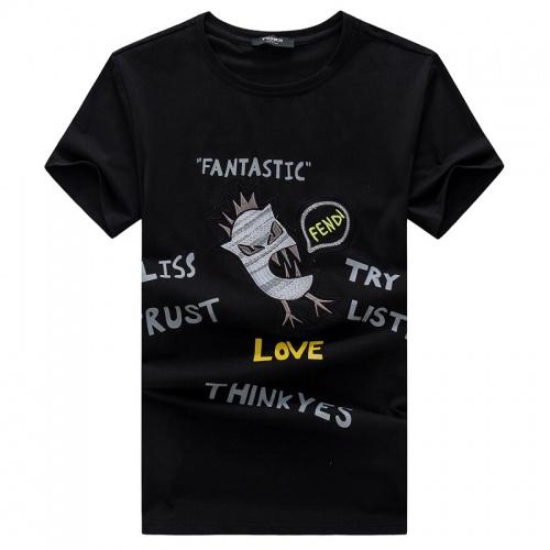 Fendi T-Shirts Short Sleeved O-Neck For Men #756570