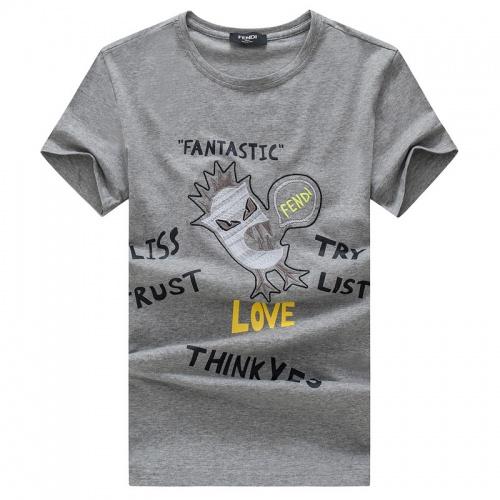 Fendi T-Shirts Short Sleeved O-Neck For Men #756571