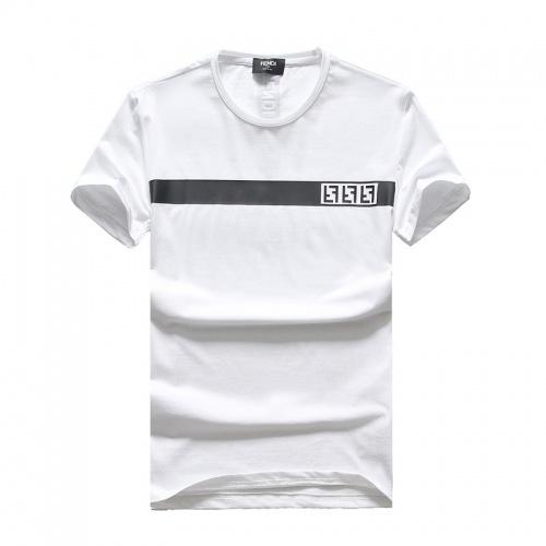 Fendi T-Shirts Short Sleeved O-Neck For Men #756610