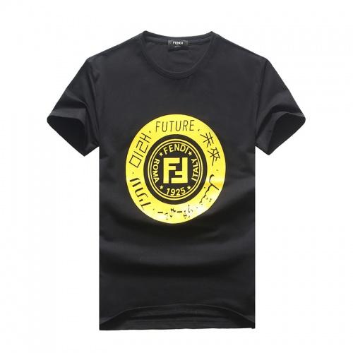 Fendi T-Shirts Short Sleeved O-Neck For Men #756615