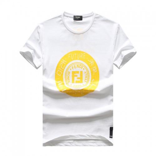 Fendi T-Shirts Short Sleeved O-Neck For Men #756616