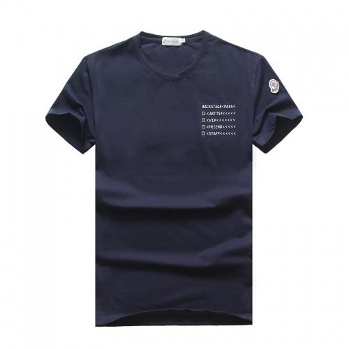 Moncler T-Shirts Short Sleeved O-Neck For Men #756623