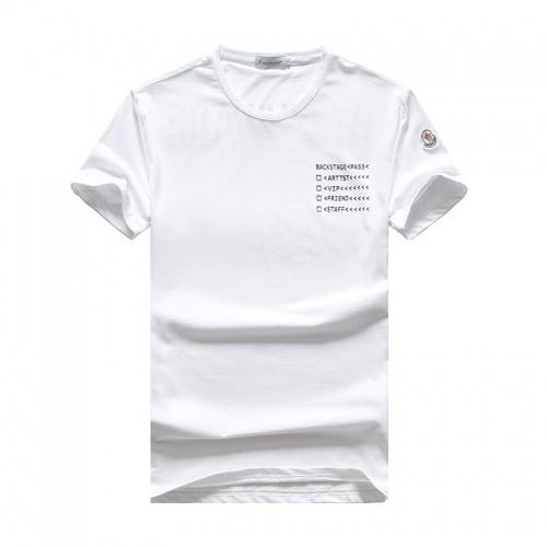 Moncler T-Shirts Short Sleeved O-Neck For Men #756627