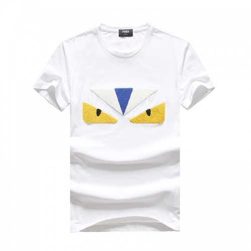 Fendi T-Shirts Short Sleeved O-Neck For Men #756643