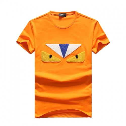Fendi T-Shirts Short Sleeved O-Neck For Men #756644