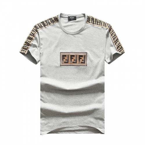 Fendi T-Shirts Short Sleeved O-Neck For Men #756647