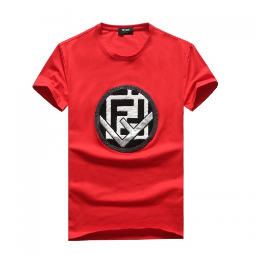 Fendi T-Shirts Short Sleeved O-Neck For Men #756655