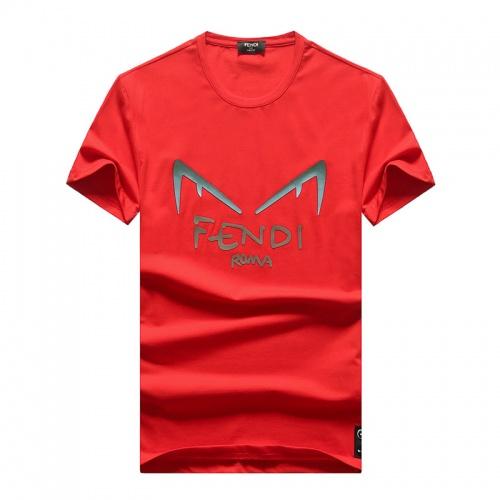 Fendi T-Shirts Short Sleeved O-Neck For Men #756664
