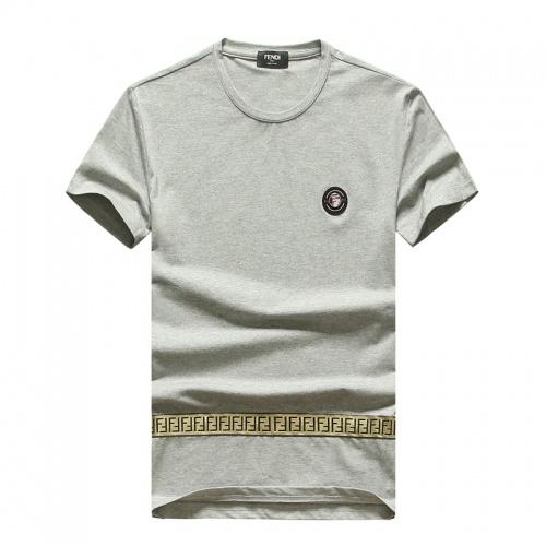 Fendi T-Shirts Short Sleeved O-Neck For Men #756667