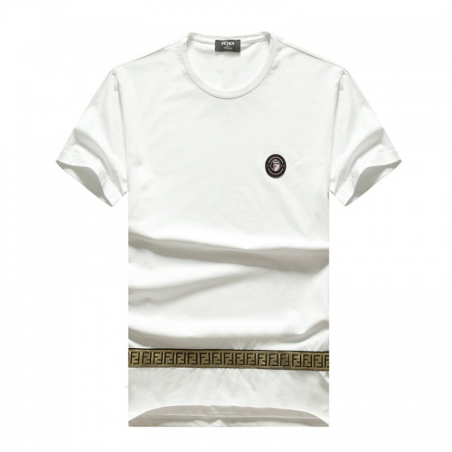 Fendi T-Shirts Short Sleeved O-Neck For Men #756668