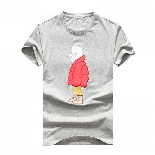 Moncler T-Shirts Short Sleeved O-Neck For Men #756674