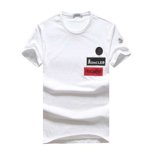 Moncler T-Shirts Short Sleeved O-Neck For Men #756683